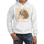 Dachshund (Longhaired) Hooded Sweatshirt