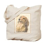 Dachshund (Longhaired) Tote Bag