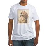 Dachshund (Longhaired) Fitted T-Shirt