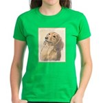 Dachshund (Longhaired) Women's Dark T-Shirt