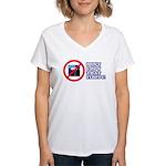 Dont copy that floppy Women's V-Neck T-Shirt