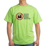 Dont copy that floppy Green T-Shirt