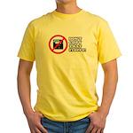Dont copy that floppy Yellow T-Shirt