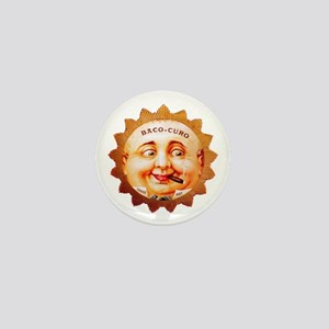 Round Face Cigar Label Mini Button