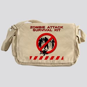 Zombie Survival Kit - Messenger Bag