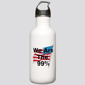 We Are The 99% Stainless Water Bottle 1.0L