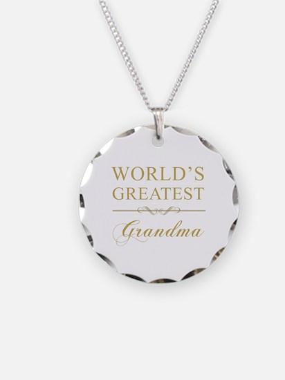 World's Greatest Grandma Necklace