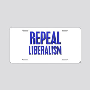 Repeal 4 Blue Aluminum License Plate