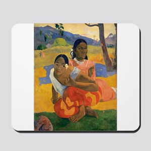 Paul Gauguin When Will You Marry Mousepad