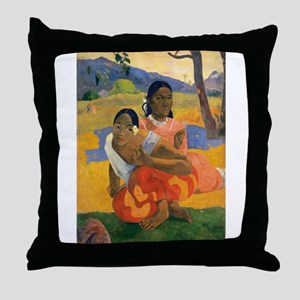 Paul Gauguin When Will You Marry Throw Pillow