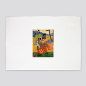 Paul Gauguin When Will You Marry 5'x7'Area Rug