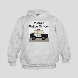Future Police Officer Kids Hoodie