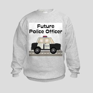 Future Police Officer Kids Sweatshirt