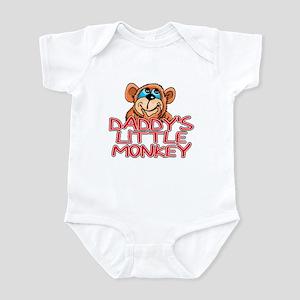 Daddy's Little Monkey Infant Creeper