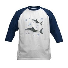Shark Kids Baseball Jersey