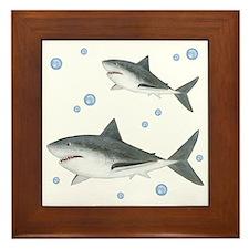 Shark Framed Tile