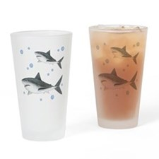 Shark Drinking Glass