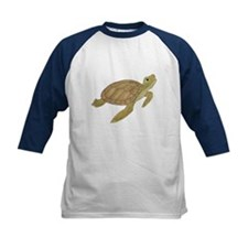 Sea Turtle Kids Baseball Jersey