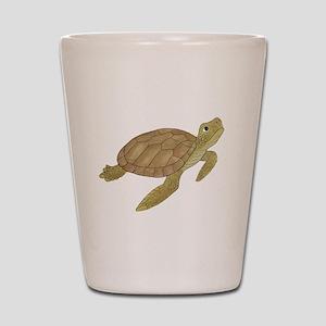 Sea Turtle Shot Glass