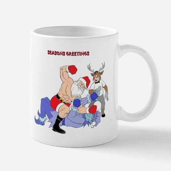 MMA-Santa Vs Jack Frost Mug