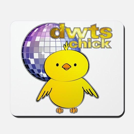DWTS Chick Mousepad