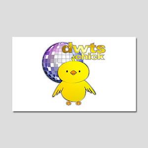 DWTS Chick Car Magnet 20 x 12