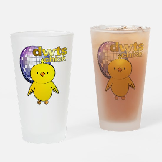 DWTS Chick Drinking Glass