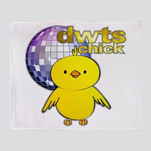 DWTS Chick Throw Blanket
