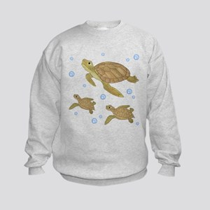 Sea Turtle Kids Sweatshirt