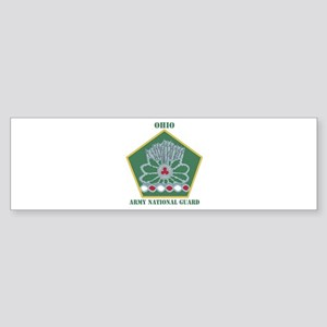 DUI-OHIO ANG WITH TEXT Sticker (Bumper)