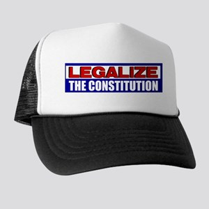 """""""Legalize The Constitution"""" Trucker Hat"""