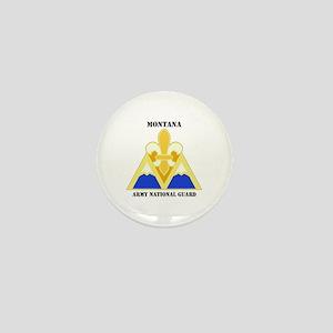 DUI-MONTANA ANG WITH TEXT Mini Button