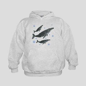 Humpback Whale Kids Hoodie