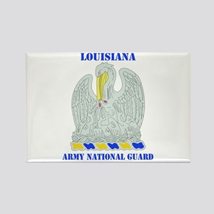 DUI-LOUISIANA ANG WITH TEXT Rectangle Magnet
