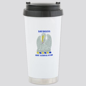 DUI-LOUISIANA ANG WITH TEXT Stainless Steel Travel