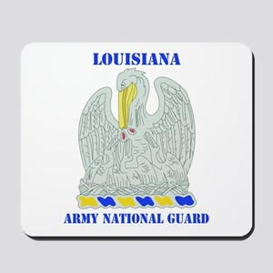 DUI-LOUISIANA ANG WITH TEXT Mousepad