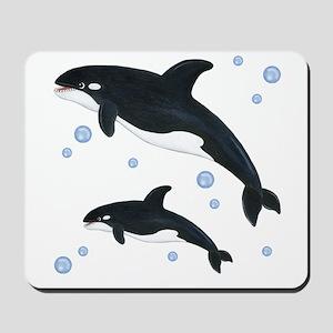 Orca Whale Mousepad