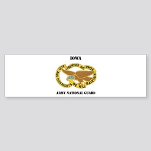 DUI-IOWA ANG WITH TEXT Sticker (Bumper)