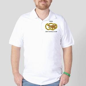 DUI-IOWA ANG WITH TEXT Golf Shirt