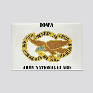 DUI-IOWA ANG WITH TEXT Rectangle Magnet
