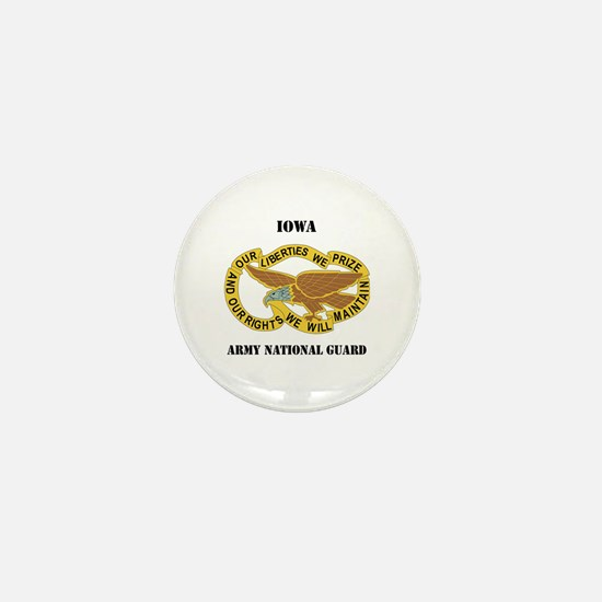 DUI-IOWA ANG WITH TEXT Mini Button