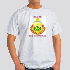 DUI-ILLINOIS ANG WITH TEXT Light T-Shirt