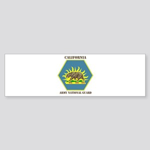 DUI-CALIFORNIA ANG WITH TEXT Sticker (Bumper)