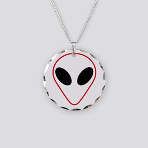 AREA 51 Necklace Circle Charm