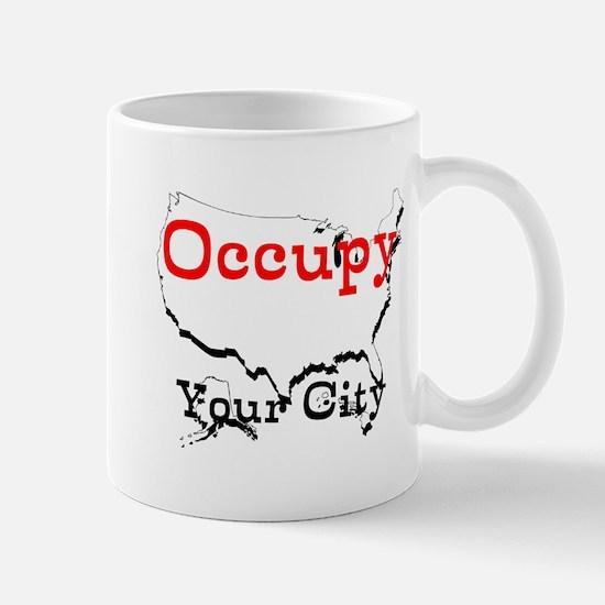 Custom Occupy Your City Mug