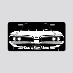 How I Roll - Super Bee Aluminum License Plate