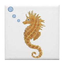 Seahorse Tile Coaster
