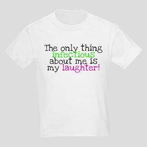 Infectious Laughter green/pin Kids Light T-Shirt