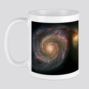 The Whirlpool Galaxy: M51 Mug