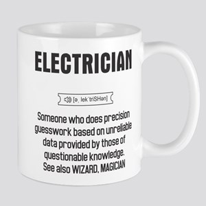 Funny Electrician Definition 11 oz Ceramic Mug